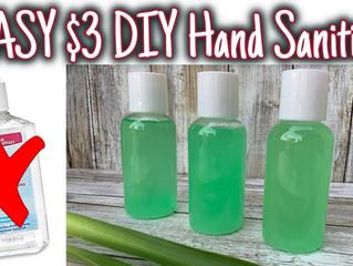 DIY – Hand Sanitizer