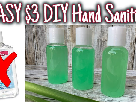 DIY – Hand Sanitizer