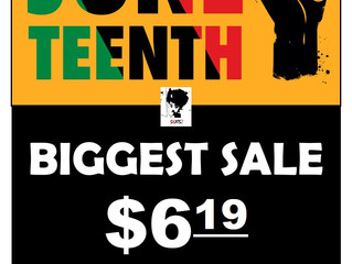 Shop Biggest Sale!! – PRE JUNETEENTH!