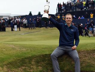 Jordan Spieth wygrał wielkoszlemowy British Open