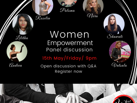 Women Empowerment panel discussion