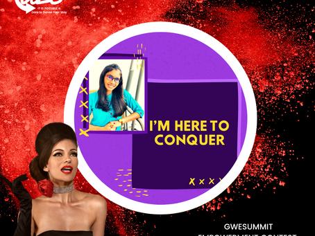 GWE SUMMIT EMPOWERMENT CONTEST: Snekha Rao