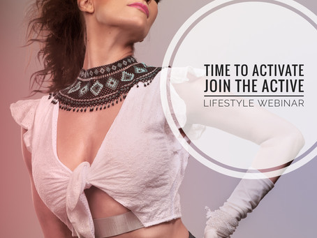 Stay Active At home Active Lifestyle webinar
