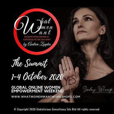 GLOBAL ONLINE WOMEN EMPOWERMENT SUMMIT