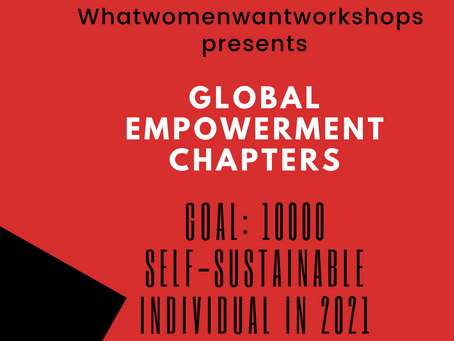 Whatwomenwant first international global Meetup session