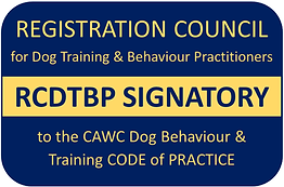 CAWC dog behaviour and trainer code of p
