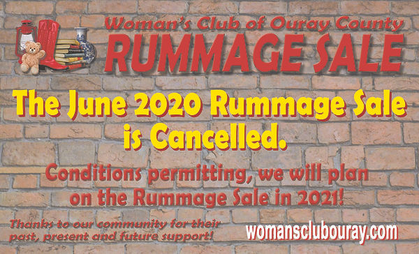 WCOC Rummage Sale Cancellation Notice.jp