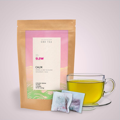 Glow Water - Calm CBD Tea