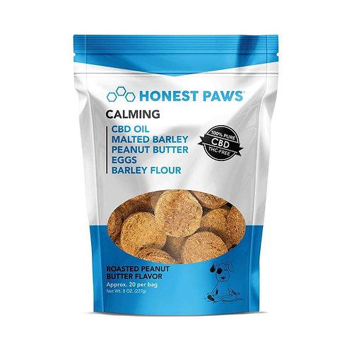 Honest Paws - Calming - Roasted Peanut Butter Flavored CBD Dog Treats