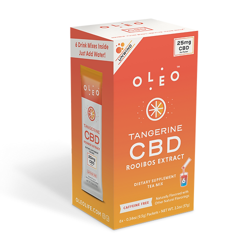 Oleo - Tangerine CBD Rooibos Tea Mix