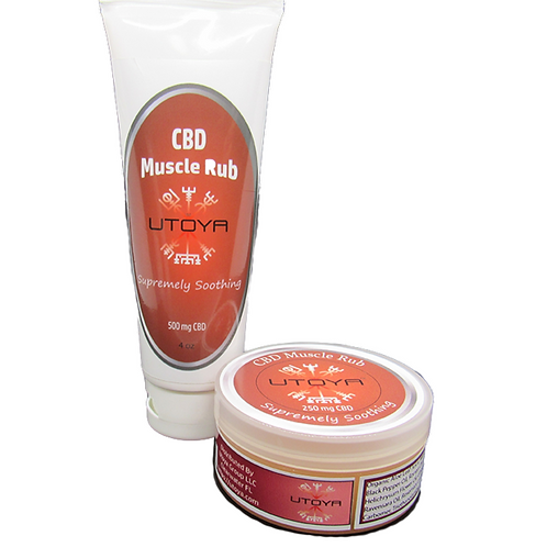 Utoya - CBD Muscle Rub - 4oz