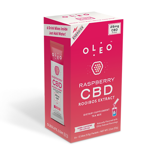 Oleo - Raspberry CBD Rooibos Tea Mix
