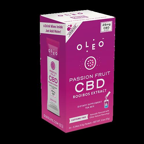 Oleo - Passion Fruit CBD Rooibos Tea Mix