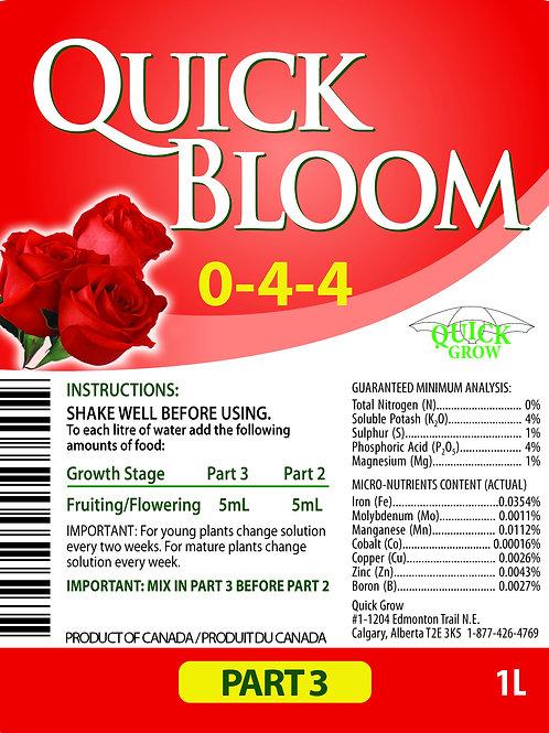 Quick Bloom Part 3