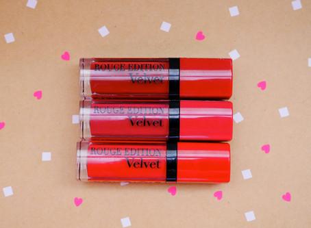 New Goodies: Bourjois Rouge Edition Velvet