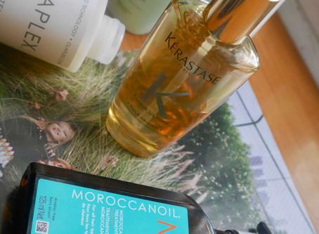 Review & Comparison: MoroccanOil Original Oil Treatment & Kerastase Elixir Ultime L'