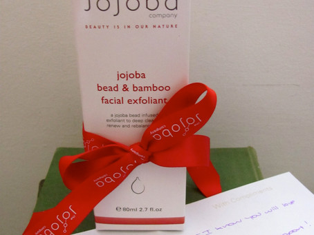 Review: The Jojoba Company Presents: Jojoba Bead & Bamboo Facial Exfoliant!
