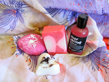New Goodies: Lush Valentines Goodies & Lime Crime's Velvetine in Pink Velvet
