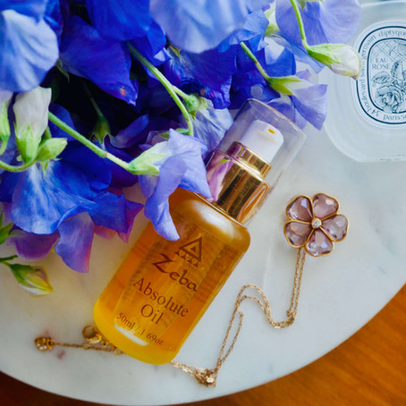 Powerful Oils: Zeba Absolute Oil with Myrrh & Frankincense 🐆🌔🪐