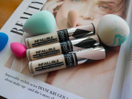 Hands Down the BEST Drugstore HIGH Coverage Concealer, L'Oreal Infaillible More Than Concealer