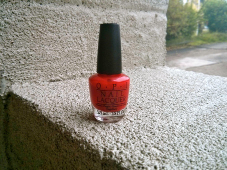 Nails of the Day: OPI's Big Apple Red