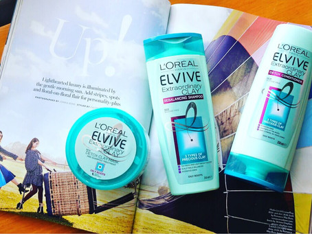 Review: L'Oreal's Elvive Extraordinary Clay Haircare Line