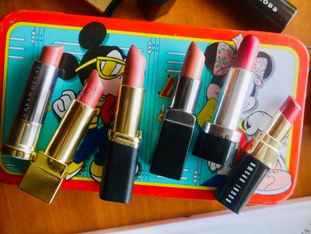 The Lipsticks Most Often Found in My Handbag! 👜👠💄💋💋💋