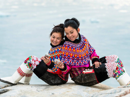 Colours of the Rainbow: Greenland's National Costume