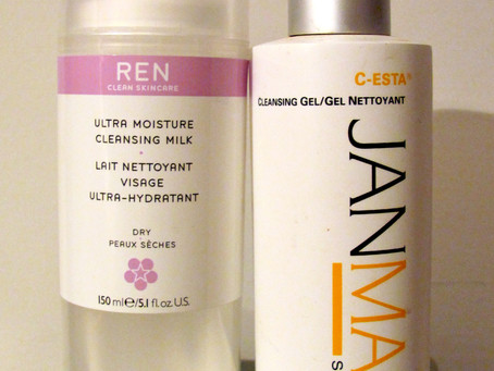 Two of My Favourite Cleansers