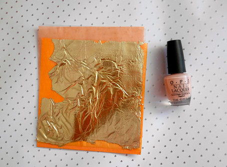 Nails of the Day: Gilded Gold Nails