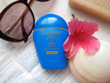 Review: Shiseido Perfect UV Protector WetForce 50+