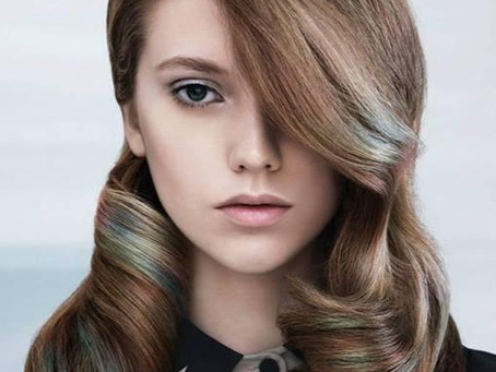Inspiration: Mother of Pearl Hair by Davines