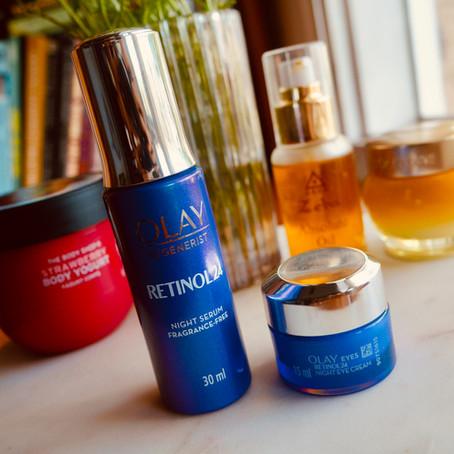 Olay Regenerist Retinol24 Night Serum and Eye Cream