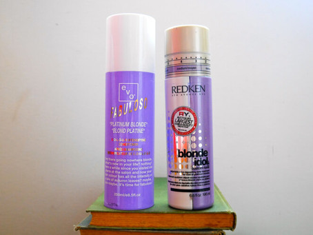 Comparison & Review: Evo's Fabuloso Platinum Blonde Colour Intensifying Conditioner &#038