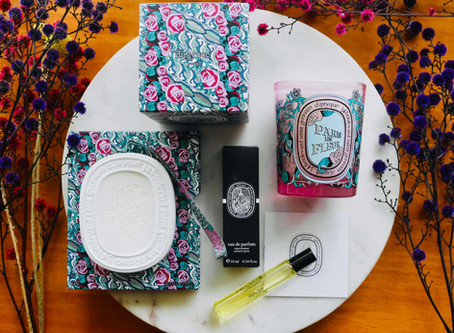 Review: Diptyque Paris En Fleur Candle, Scented Oval & Eau Capitale Parfum (Limited Edition) 🌹