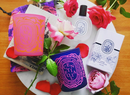 Review: Diptyque Damascena, Centifolia Rose Candles & Eau Rose Hair Mist 🌹🕯❤️