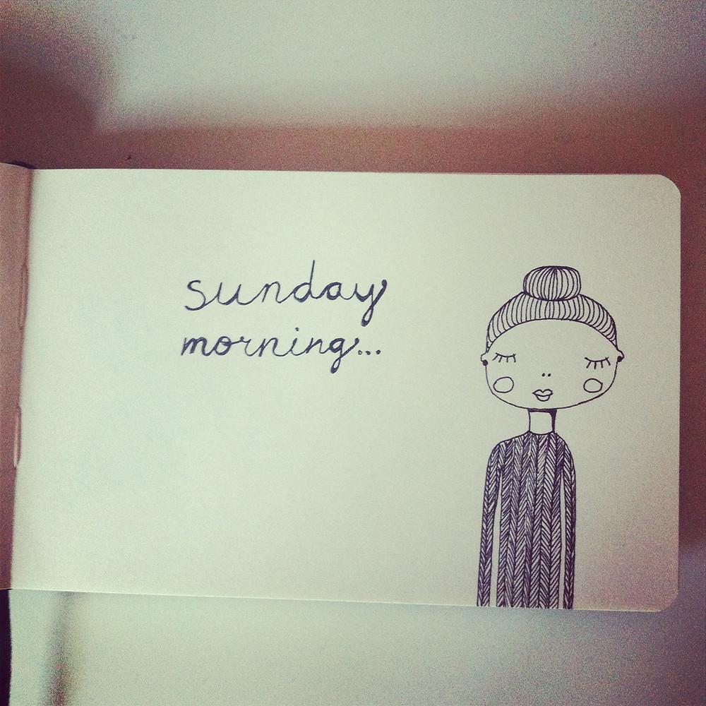 illustration-sunday-morning