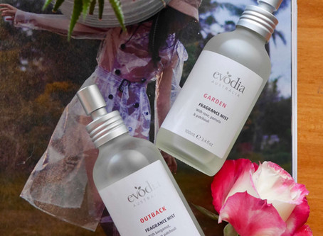 Review: Evodia Australia Fragrance Mists in 'Outback' & 'Garden' ☀️🐨🦘