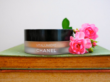 Easy Foundation: Chanel's Vitalumiere Loose Powder Foundation