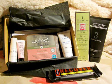 Bellabox's August Box. Somewhat of a Review.