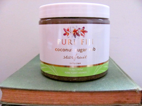 Review: Pure Fiji Coconut Sugar Rub in Starfruit