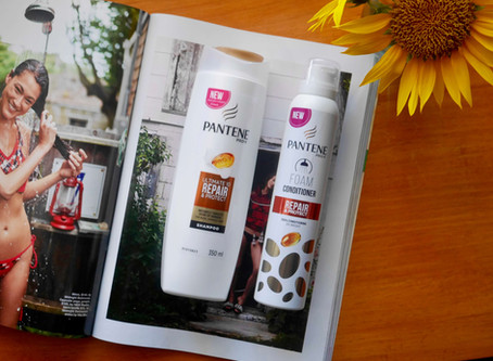 Review: Pantene Ultimate 10 Repair & Protect Shampoo and Foam Conditioner
