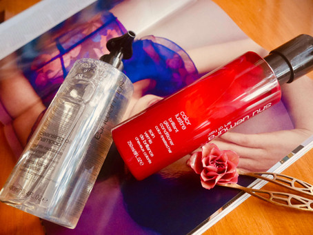 Discovering Shu Uemura's Art of Hair: Cleansing Oil Shampoo (Gentle Radiance) & Color Lus