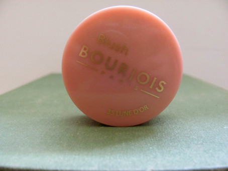 New Goodies: Bourjois Little Round Pot of Blush #35 Lune D'or