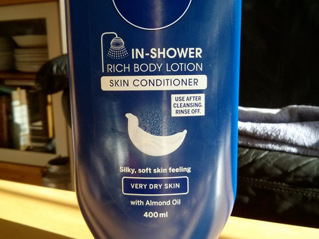 Review & Comparison: Nivea In-Shower Rich Body Lotion/Skin Conditioner