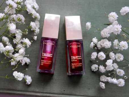 Review: Clarins Instant Light Lip Comfort Oil in Raspberry & Red Berry