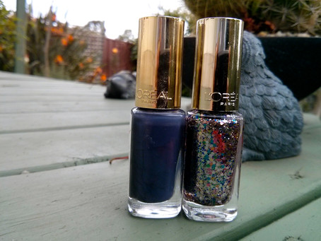 Nails of the Day: Sequin Explosion & Rue Montmarte