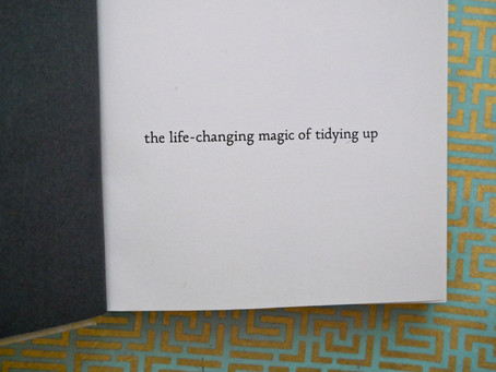 Book Review: The Life Changing Magic of Tidying Up by Marie Kondo
