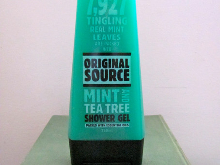 Something for a Summers Day: Original Source Mint & Tea Tree Shower Gel
