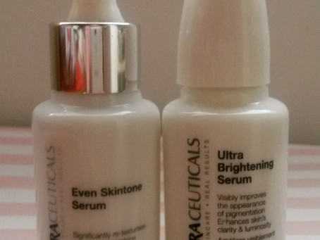 Review & Comparison: Ultraceuticals Even Skintone Serum and Ultra Brightening Serum